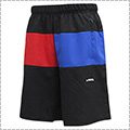 Ballaholic 3Tone Anywhere Zip Shorts 黒/青/赤