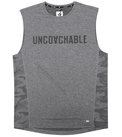 K1X Core Uncoachable Sleeveless グレー