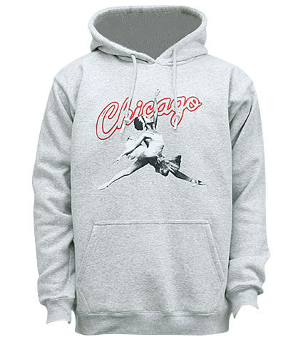 K1X Chicago Hoody ライトグレー