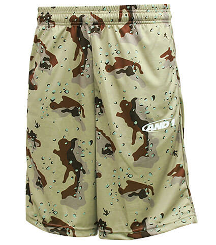 AND1 Camo Graphic Short デザートカモ