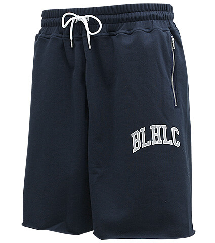 Ballaholic BLHLC Sweat Zip Shorts 紺