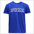 SPALDING DUKE Logo Cotton Tee ロイヤルブルー