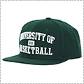 K1X University of Basketball Snapback Cap ハンターグリーン