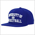 K1X University of Basketball Snapback Cap ブルー