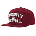 K1X University of Basketball Snapback Cap ボルドー