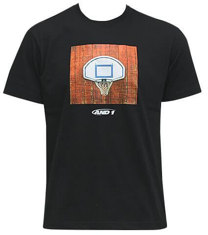 AND1 Goal Photo Tee 黒