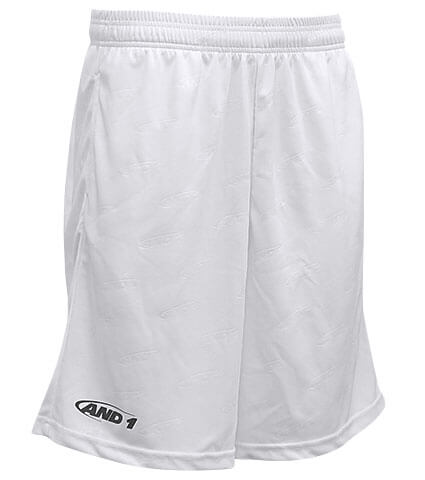 AND1 Hook Logo Monogram Short 白