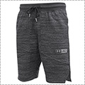 UNDER ARMOUR SC30 Fleece Short 黒/銀