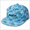 AKTR Chemical 6Panel Cap ブルー