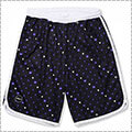 Arch Candy Drop Shorts 黒/パープル