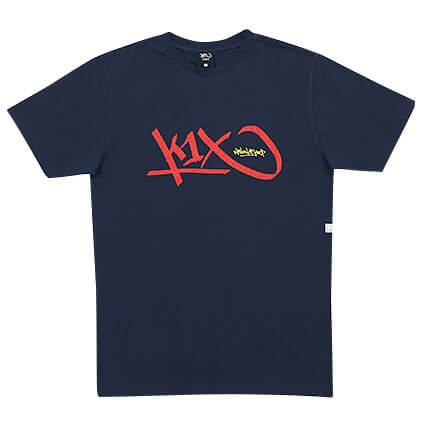 K1X Bootleg Tag Tee 紺/ウエストブルック