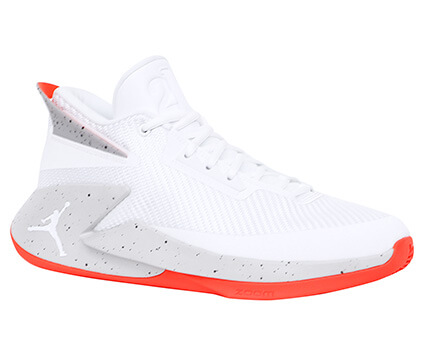 Jordan Fly Lockdown PFX 白/グレー/レッド