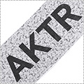 "AKTR Sports Towel ""COMFORT"" SPLASH18 白"