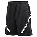AND1 Hook Logo Line Short 黒/白