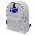 NBA Sweat Backpack グレー/NBAロゴマン