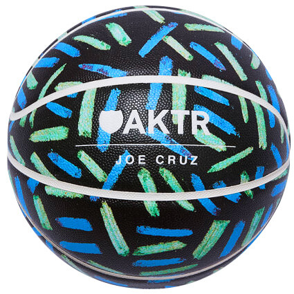 AKTR×TACHIKARA CUSTOM×JOE CRUZ Basketball 黒