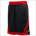Jordan Rise Diamond Shorts 黒/赤/黄