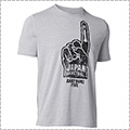 UNDER ARMOUR JAPAN Foam Finger Charged Cotton Tee スティールヘザー