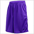 Ballaholic Basic Zip Shorts パープル