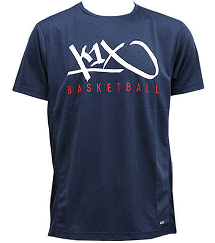 K1X Core Tag Basketball Tee ネイビー