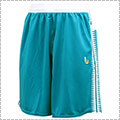 Ballaholic b Playground Zip Shorts タイルブルー