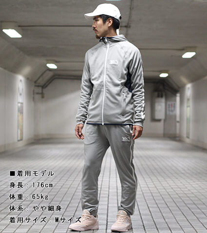 K1X Core Panel Zip Hoody ライトグレーヘザー