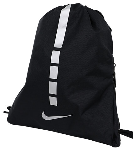 NIKE Hoops Elite Gym Sack 黒/銀