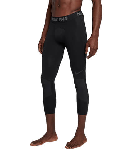 NIKE PRO Dri-fit 3/4 Tights 黒/黒