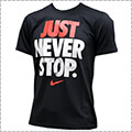 NIKE Just Never Stop Tee 黒/白