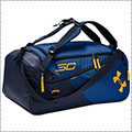 UNDER ARMOUR SC30 Contain 4.0 Backpack Duffle ロイヤルブルー/ネイビー/ゴールド