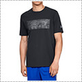 UNDER ARMOUR SC30 Logo SS Tee 黒/スティール