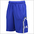 UNDER ARMOUR Big Stage 11in Short ロイヤル/白/白