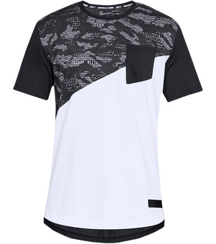 UNDER ARMOUR SC30 Graphic Tee 2 黒/白/黒