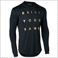 UNDER ARMOUR Tech Raise Your Game L/S 黒/ゴールド