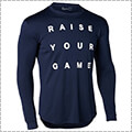 UNDER ARMOUR Tech Raise Your Game L/S ミッドナイトネイビー