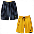 AKTR Brush Stripe Rev Shorts 黒/黄