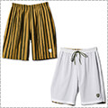 AKTR Brush Stripe Rev Shorts 緑/白