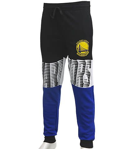 UNK NBA Color Racer Jogger Pants ゴールデンステイト・ウォーリアーズ