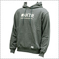 AKTR Basic Logo Sweat Pullover Parka グレー