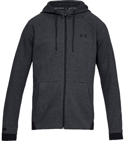 UNDER ARMOUR Sportstyle 2x Knit Fz Hoodie 黒/黒/黒