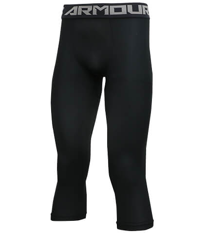 UNDER ARMOUR HG Armour 2.0 3/4 Legging 黒/グラファイト