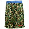 AND1 Camo Graphic 2 Short カーキカモ