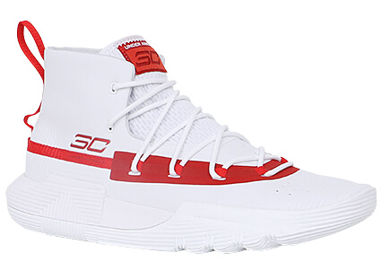 UNDER ARMOUR Curry 3ZER0 II 白/赤/赤