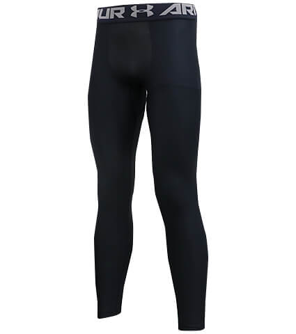 UNDER ARMOUR HG Armour 2.0 Legging 黒/グラファイト