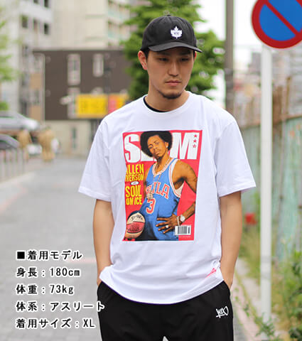 Mitchell&Ness SLAM Cover Tee J.Williams 白