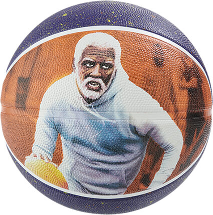 SPALDING Uncle Drew Rubber Ball オレンジ/7号