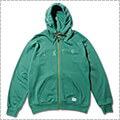 AKTR Authentic Sweat Zip Parka 2018 緑