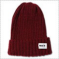 AKTR Basic Knit Cap 2018 バーガンディ
