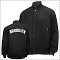 AKTR 68&BROTHERS Stadium Jacket BROOKLYN  黒