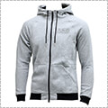UNDER ARMOUR Baseline FLC Full Zip Hoody スティールライトヘザー/黒/黒